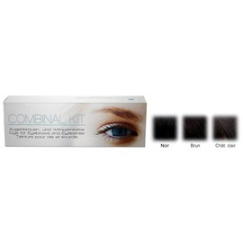 Kit Teinture Cils/Sourcils Combinal Brun/Ch�t.