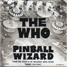 The WHO Pinball Wizard - Dogs part II - 2-track CARD SLEEVE CD SINGLE