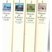 Histoire De La France Rurale/ Complet En 4 Tomes de Duby George / Wallon Armand
