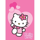 Tapis Pas Cher Hello Kitty Love Rose 95x133 En Polypropyl�ne De Un Amour De Tapis