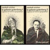 La Galaxie Gutenberg - Tomes 1 & 2 de mcluhan marshall