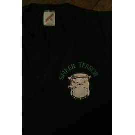 """t-shirt Sheer Terror """"the executioner"""" noir taille XLarge 2 sides"""