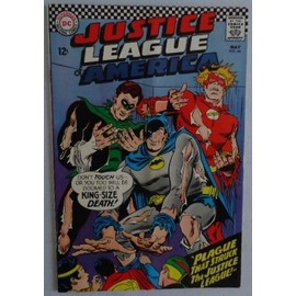 Justice League Of America N�44 (Vo) 05/1966