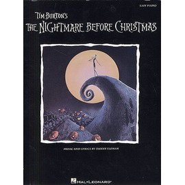 The Nightmare Before Christmas (Easy Piano) Piano