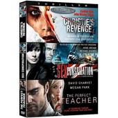 Complot - Coffret 3 Films : Christie's Revenge + Sex Conspiration + The Perfect Teacher - Pack de Douglas Jackson