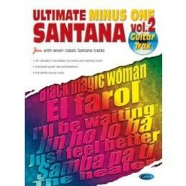 Santana - ULTIMATE MINUS ONE, volume 2