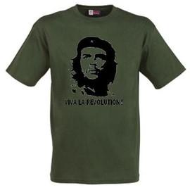 T-Shirt Che Guevarat Kaki Viva La R�volution ! ++Top Qualit�++ S � 4xl