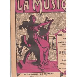 la musique n°15 dimanche 23 juin 1912 paul andré et henri renier: gavotte des petites princesses, emile ettling le premier rêve, herman rigoletto pour violon et mandoline