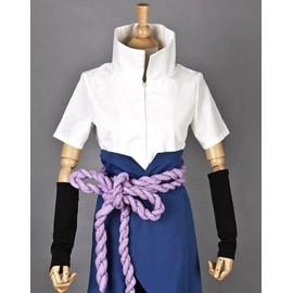 Sasuke Uchiha Shippuden Cosplay Costume Taille Enfant Petit Petite Grande Grand Taille