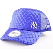 Casquette Trucker New Era New York Yankees Satin� Bleu