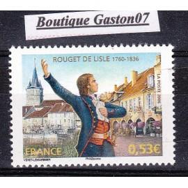 """FRANCE 2006:  """"Personnalité: Capitaine Claude ROUGET de LISLE (1760-1836)""""; Yvert & Tellier n°3939..1 valeur neuve."""