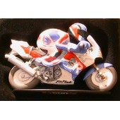 Joe Bar Team Charly Mande Honda 900 Cbr Fireblade 1/18 En Resine Moto Bike