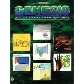 GENESIS GUITAR ANTHOLOGY TAB