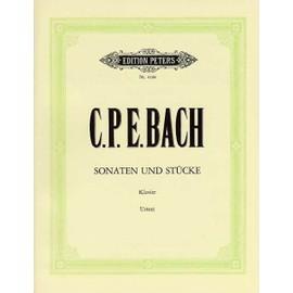 C.P.E. BACH - Sonaten und Stücke für Klavier