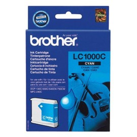 Cartouche D'encre Cyan Brother 1000c