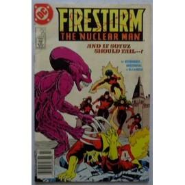 Firestorm The Nuclear Man N�73 (Vo) 07/1988