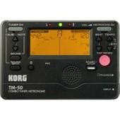 Korg Tm-50 Noir - Accordeur Chromatique Et M�tronome