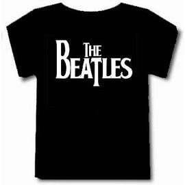 T-shirt the beatles logo tee-shirt noir ++Top qualité++ S à 4XL