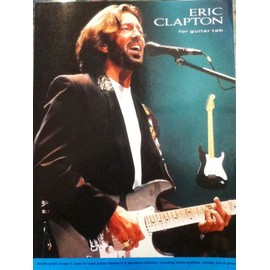 ERIC CLAPTON FOR GUITAR TAB-Eleven songs
