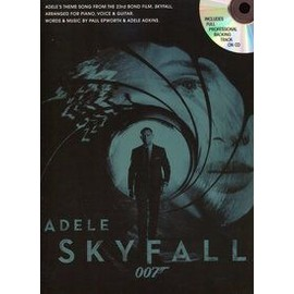 FORMAT ADELE SKYFALL (JAMES BOND 007) PVG + CD