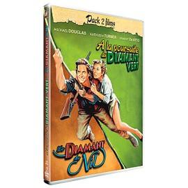 A La Poursuite Du Diamant Vert + Le Diamant Du Nil Pack 2 Films