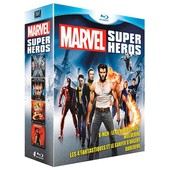 Marvel Super H�ros - Coffret 4 Films - Pack - Blu-Ray