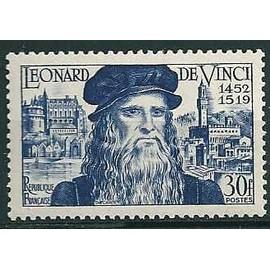 France 1952 - Yv. 929 - 500 ans de la naissance de Léonard de Vinci -Neuf** luxe