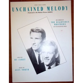 PARTITION UNCHAINED MELODY SSA/PIANO