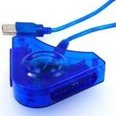 Adaptateur Usb 2 Manettes Ps2 Console Ps3/Pc