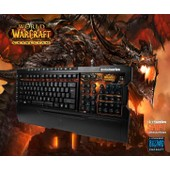 Claviers Gamings : Clavier Gaming STEELSERIES SHIFT LIMITED EDITION CATACLYSM GAMING KEYBOARD, MMORPG , FPS, Jeux Video, Game