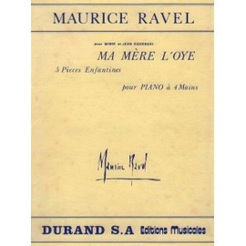 Ma Mere L'oye (Mother Goose) 5 Pieces Enfantines pour Piano A 4 Mains Transcribed For Piano Solo (Charlot)