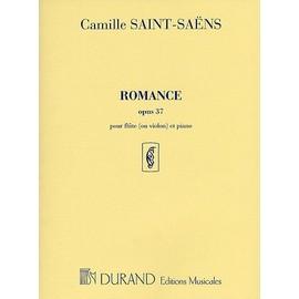 Saint-Saëns : Romance Op.37 in D flat