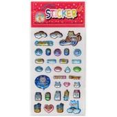 Stickers En Relief Pour Scrapbooking / Loisirs Cr�atifs. Th�me : Chats