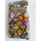 Etui Housse Coque Rigide Ipod Touch 4 Manga Bd Comics Cartoon R�tro Vintage Geek