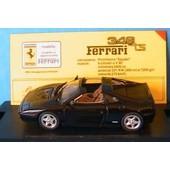 Ferrari 348 Ts Stradale Spider Black Bang 48003 1/43 Made In Italy