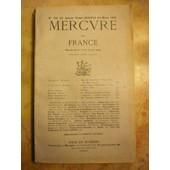 Mercure De France, N� 786, 15 Mars 1931. Contient Entre Autres : Von Der Lancken Et L'ex�cution De Miss Cavell, Par Charles-S. Heymans (23 P.). Deux Contes Lithuaniens De Ma M�re L'oie, Par... de COLLECTIF