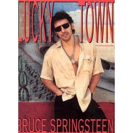 BRUCE SPRINGSTEEN Lucky Town Piano Vocal Chords Songbook