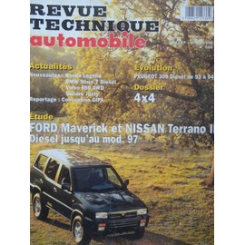 Revue Technique Automobile Ford Maverick Et Nissan Terrano Ii Diesel 2.7 Jusqu'au Mod�le 1997