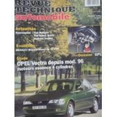 Revue Technique Opel Vectra Essence 1.6 - 1.8 - 2.0 Depuis Le Mod�le 1996