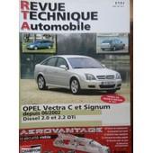 Revue Technique Opel Vectra C Et Signum Diesel 2.0 Et 2.2 Dti Depuis 06/2002