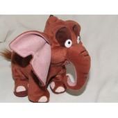 Elephant Doudou Disney Tarzan Marron Peluche De 20 Cm