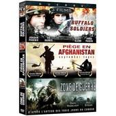 Guerre - Coffret 3 Films : Buffalo Soldiers + September Tapes - Pi�ge En Afghanistan + Zone De Guerre - Legacy - Pack de Jordan Gregor