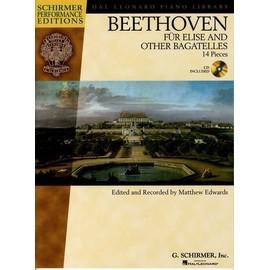 Ludwig Van Beethoven: Für Elise And Other Bagatelles + CD