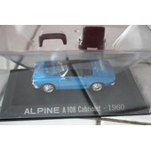 Alpine A 108 Cabriolet Bleu 1960