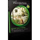 Wonderbox S�jour Table D'h�tes