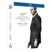 James Bond 007 - Daniel Craig : La Trilogie : Casino Royale + Quantum Of Solace + Skyfall - Pack - Blu-Ray de Sam Mendes