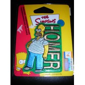 Omer Simpsons Patch A Coller Au Fer
