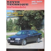 Revue Technique Automobile Opel Vectra Essence 1.4 - 1.6 - 2.0 - 2.0 16s - Gl - Gls - Cd - Gt