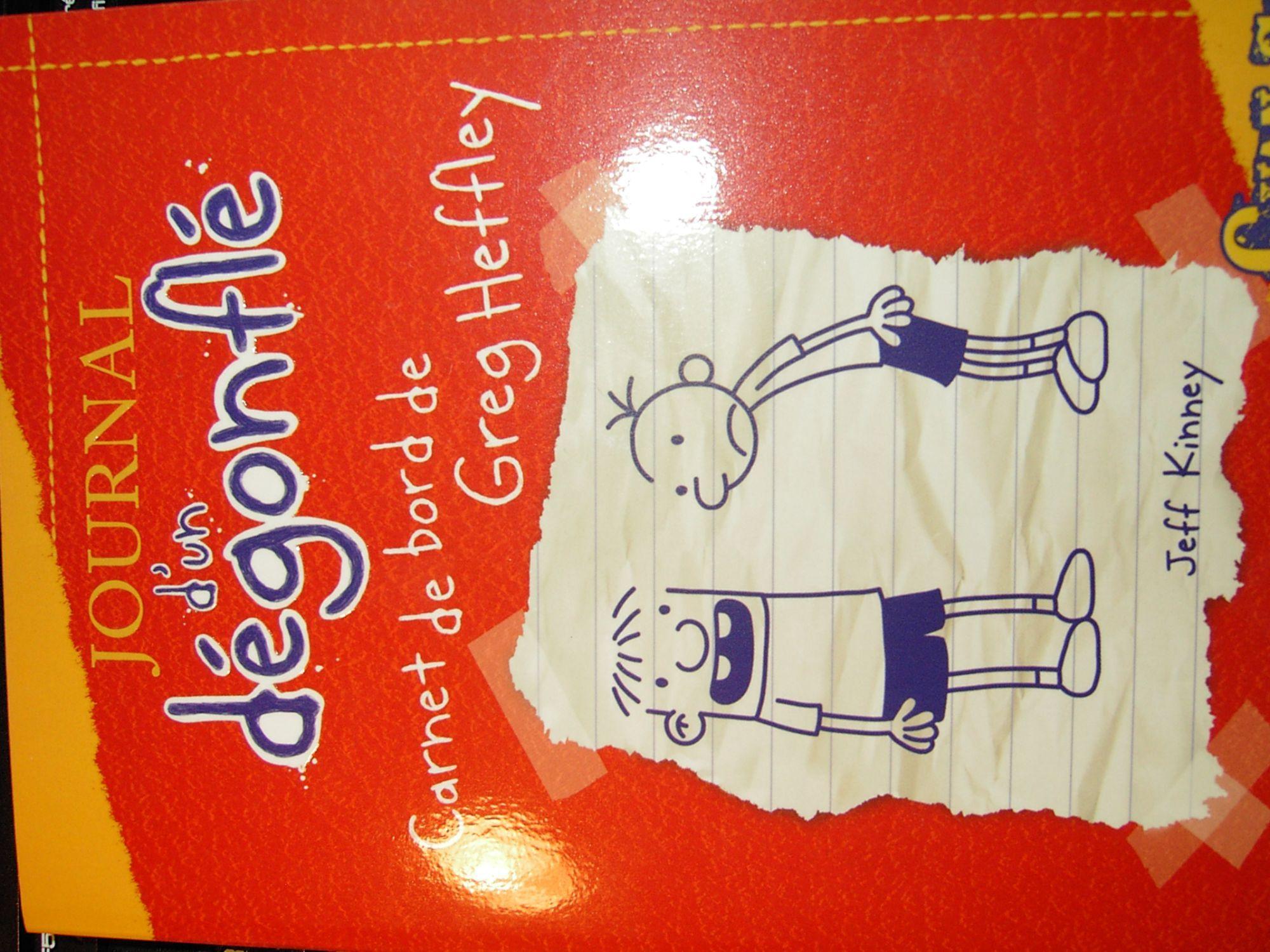 journal d'un degonflé carnet de bord de greg heffley