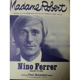 """NINO FERRER """" MADAME ROBERT """""""